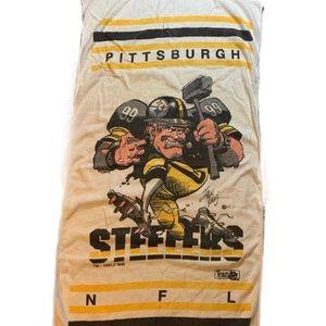 Vintage Pittsburgh Steelers Towel